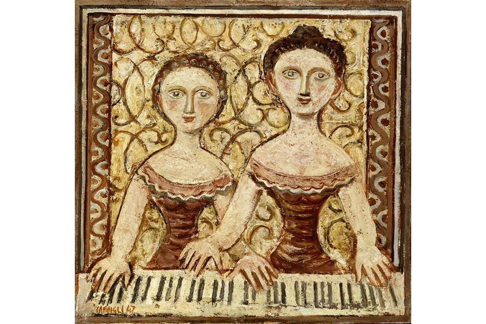 Massimo Campigli, Donne al piano