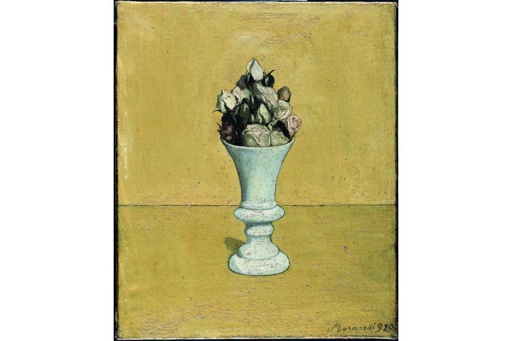 Джорджо Моранди, «Цветы», 1918 Холст, масло / Частная коллекция