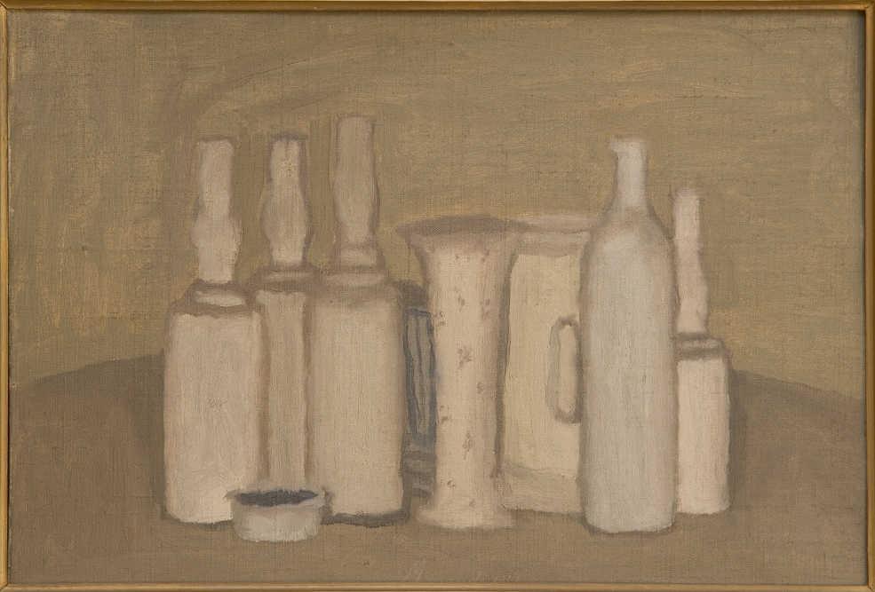 Джорджо Моранди, «Натюрморт», 1941 Холст, масло / Collezione Patrimonio Artistico Eni S.p.a.