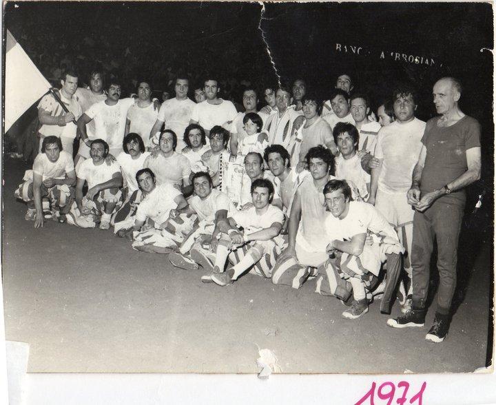Calcio fiorentino, 1971