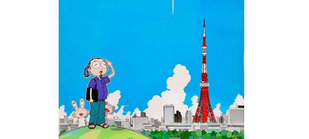 64435-Takashi_Murakami_2c_Murakami_Kun_2c_2009_2c_tecnica_mista_su_carta_2c_68x68_cm_1_