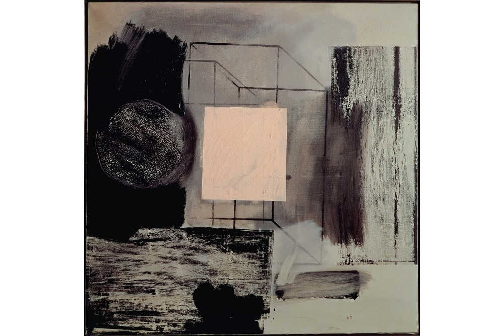 Robert-Rauschenberg-Renascence-1962-ol-and-silkscreen-ink-on-canvas-91.4-x-91.4-cm
