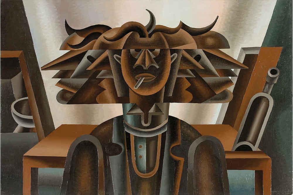 Фортунато Деперо, «Эмоциональное ядро» («Головокружение»), 1946