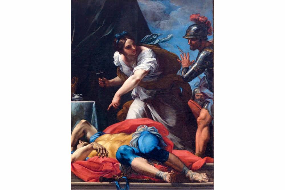 Carlo Maratta, Morte di Sisara, Galleria dell'Accademia di San Luca