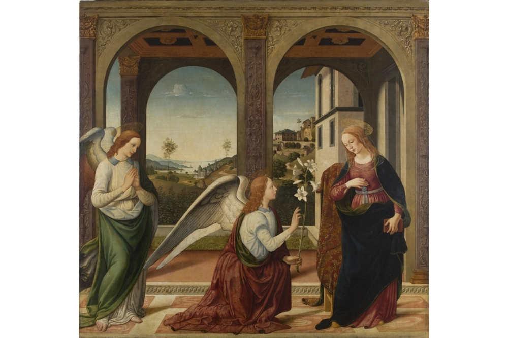Biagio d´Antonio, Annunciazione, Galleria dell'Accademia di San Luca