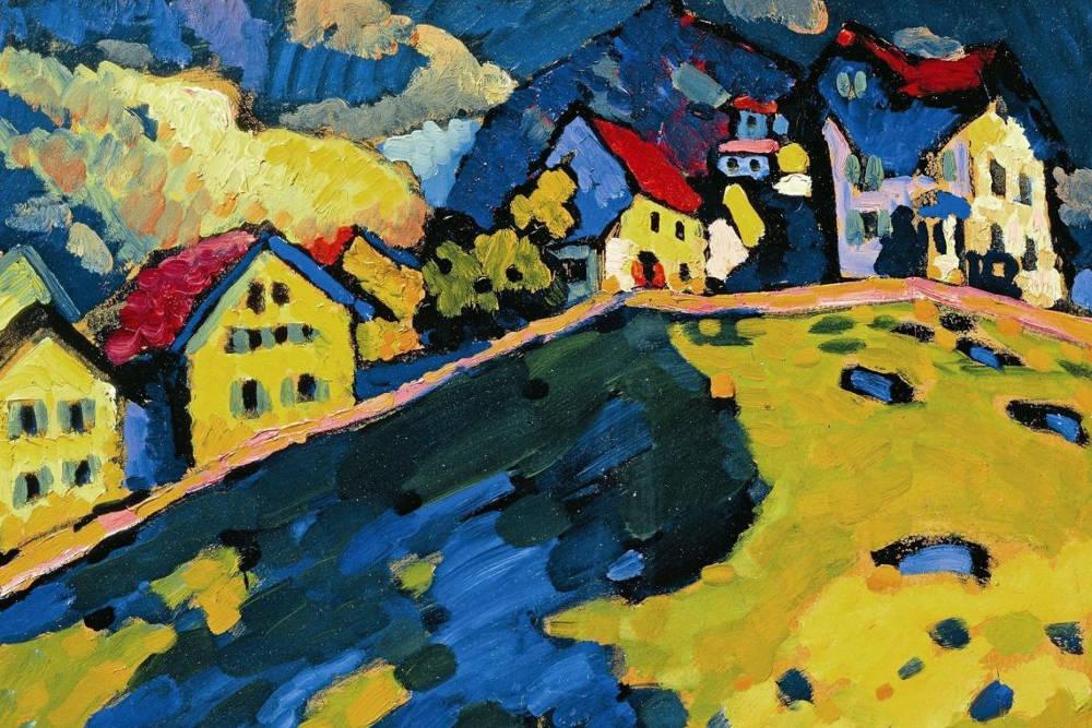 """""""Case a Murnau"""", V. Kandinskij"""