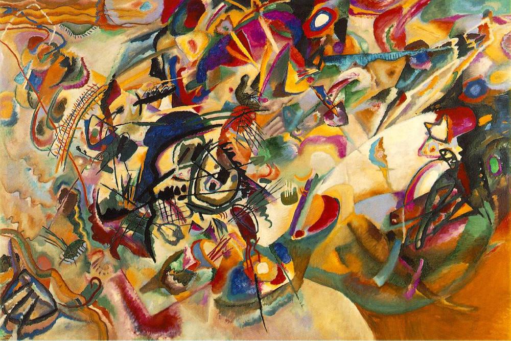 """Composition XII"", V. Kandinskij"