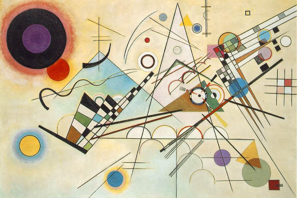 """Cavaliere blu"", V. Kandinskij"