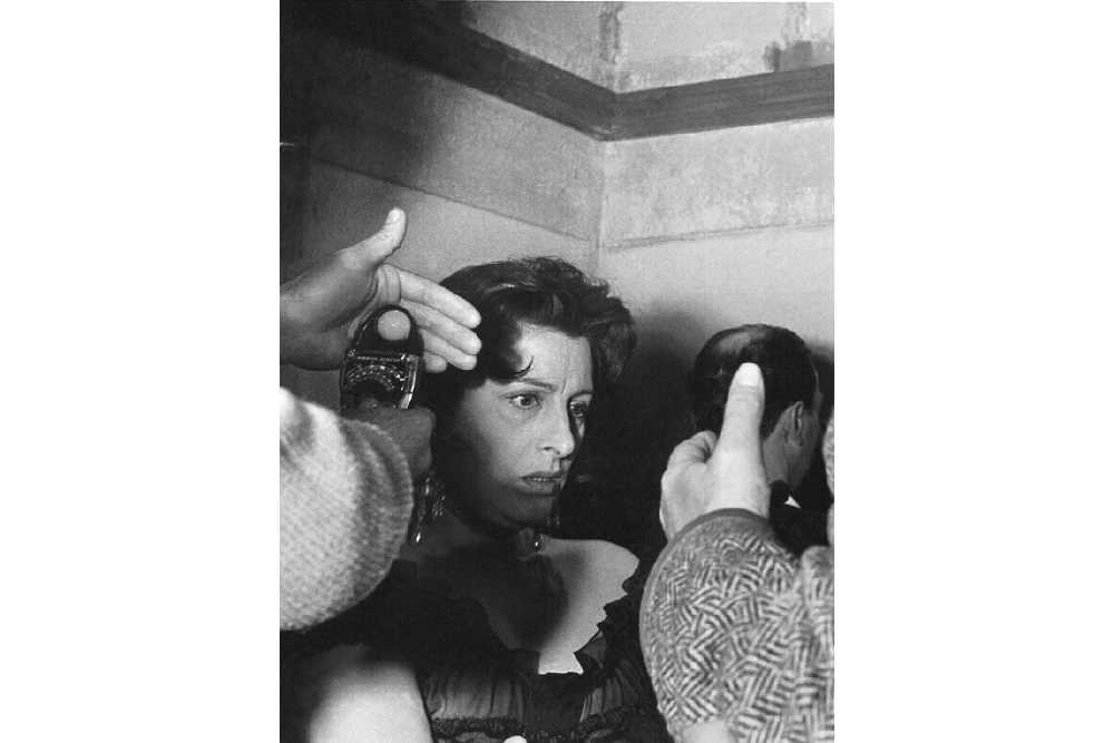 Анна Маньяни на киностудии «Чинечитта » в начале 50-х © Inge Schoenthal Feltrinelli LUZ