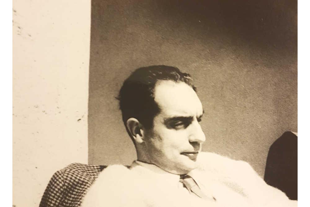 Итало Кальвино в доме семьи Эйнауди в Сан Джакомо ди Дольяни в 70-е © Giulio Bollati