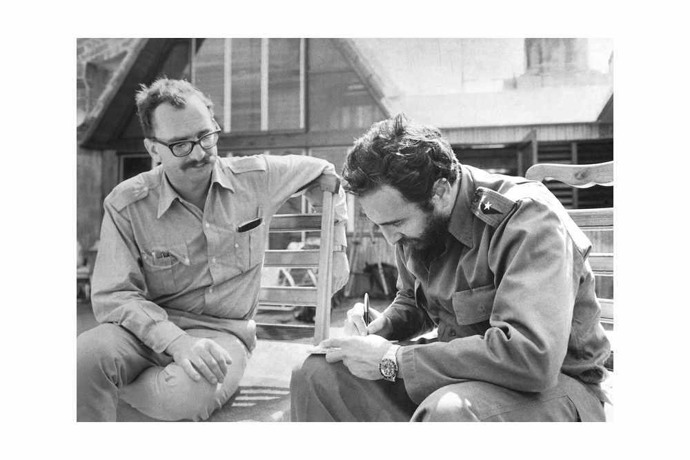 Джанджакомо Фельтринелли и Фидель Кастроo в Гаване в 1964 © Inge Schoenthal Feltrinelli
