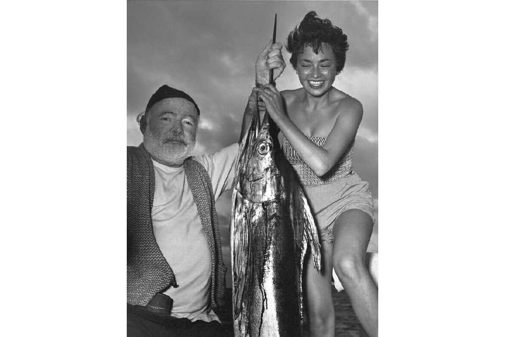 Эрнест Хемингуэй и Инге Фельтринелли на Кубе в 1953 году © Inge Schoenthal Feltrinelli LUZ