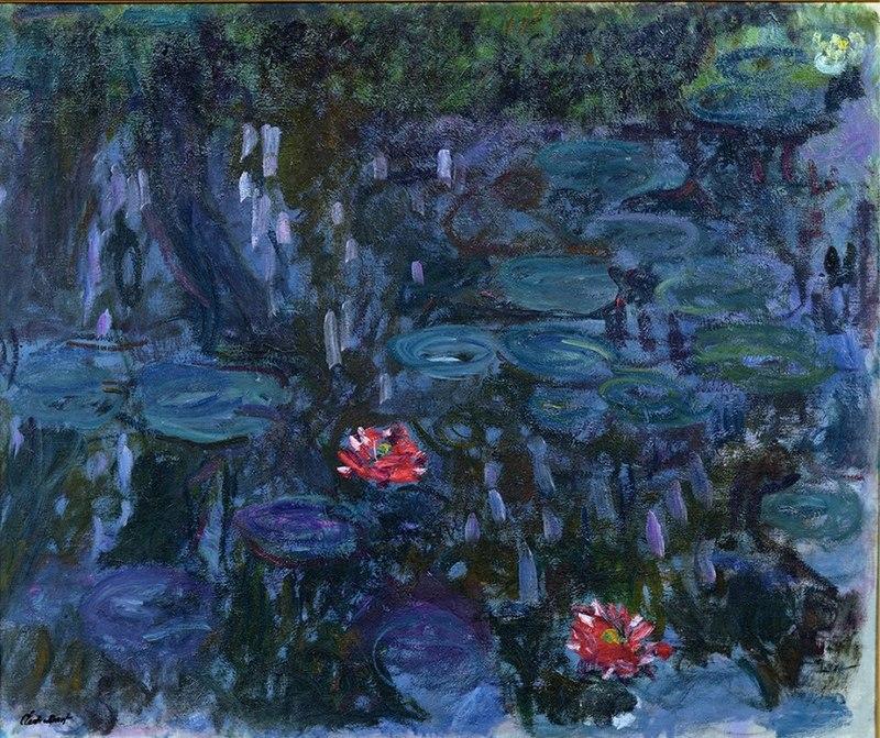 Claude_Monet__Ninfee_e_riflessi_del_salice_1916-1919__Musée_Marmottan